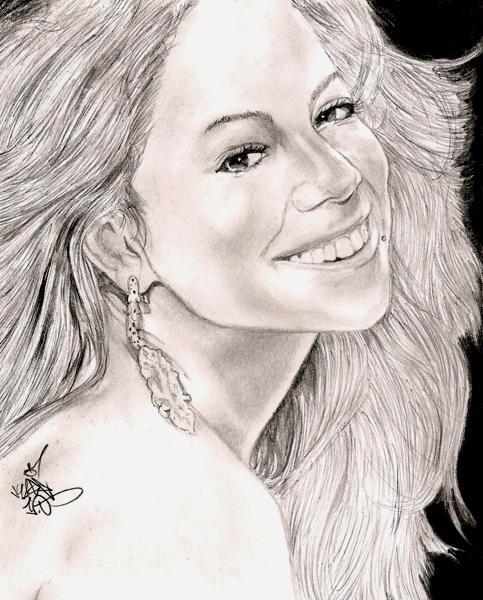 Mariah Carey por Kage1.0